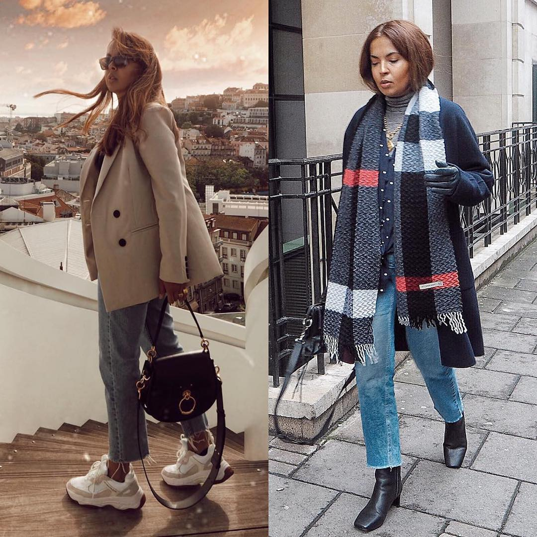 Parisian chic outfit idea: sporty touch or classy mood 2021
