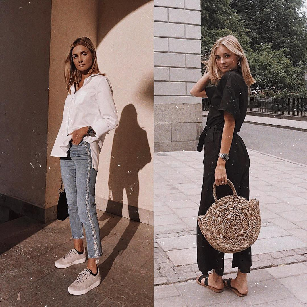 Simple summer OOTD for young women 2021