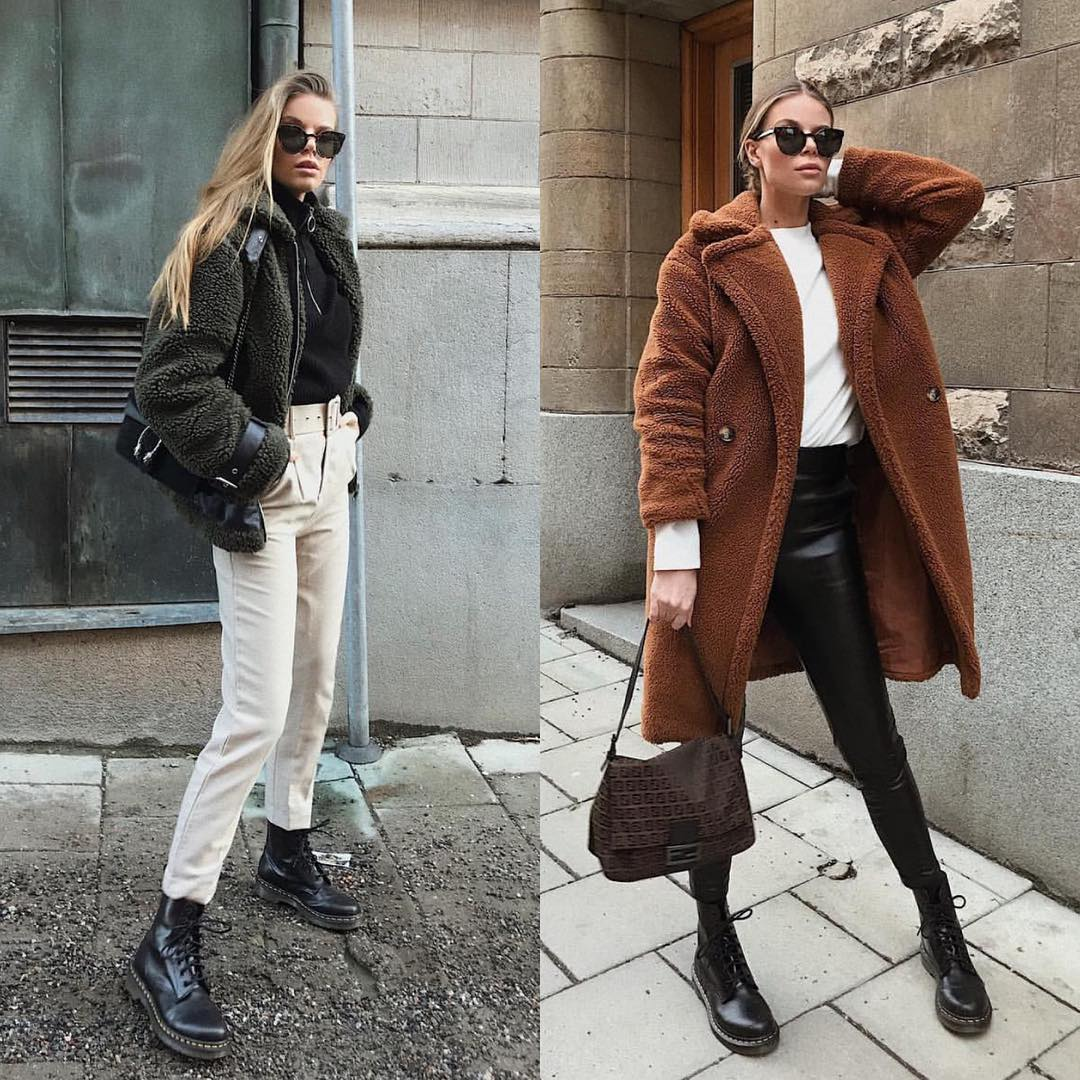 Teddy bear coat or jacket for Urban Street Walks 2021