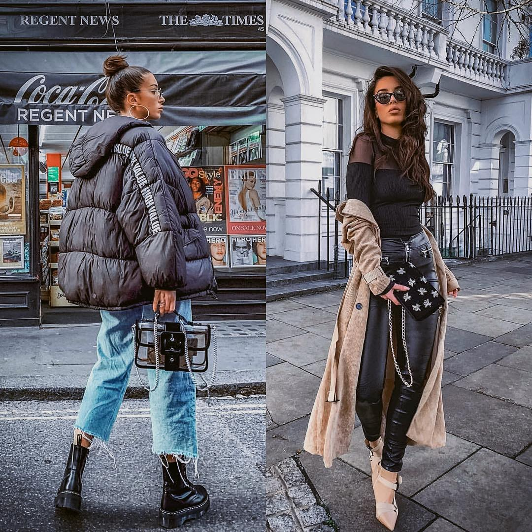 Urban casual or urban glamor: oversized puffer jacket or suede coat for autumn 2021