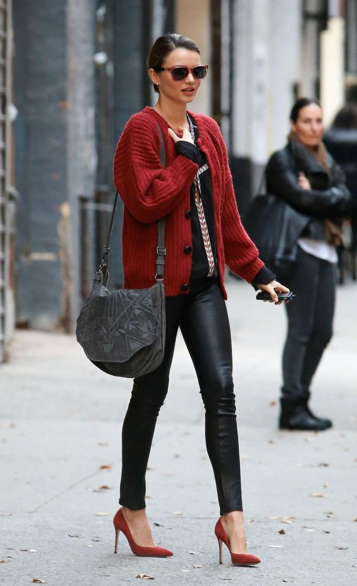 Celebrity outfits in Winter Street Style Inspiration 2021