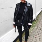 All Black Edgy Look For Spring