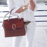 All White OOTD With Gold Arm Party Outfit