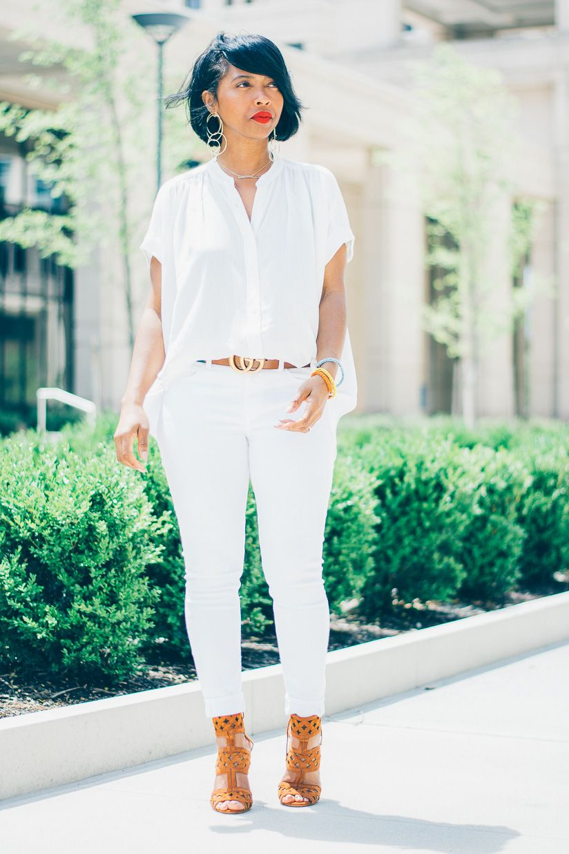 All White Outfit Idea Outfit