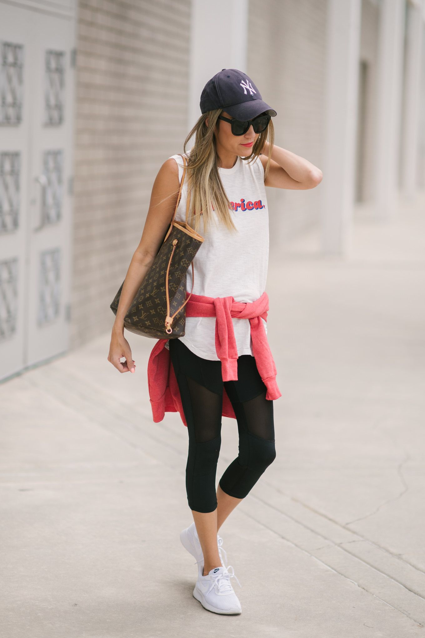 Athleisure Style Look For Summer