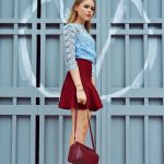 Best Red Skirts Outfit Ideas