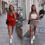 Best Summer Outfits With White Sneakers