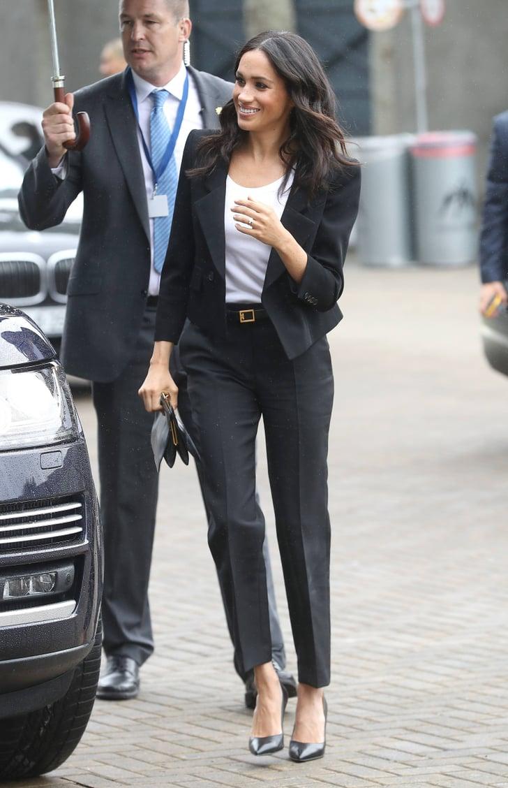 Black Pantsuit Outfit