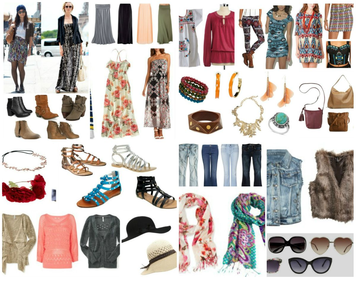 Bohemian Style Essentials For Summer