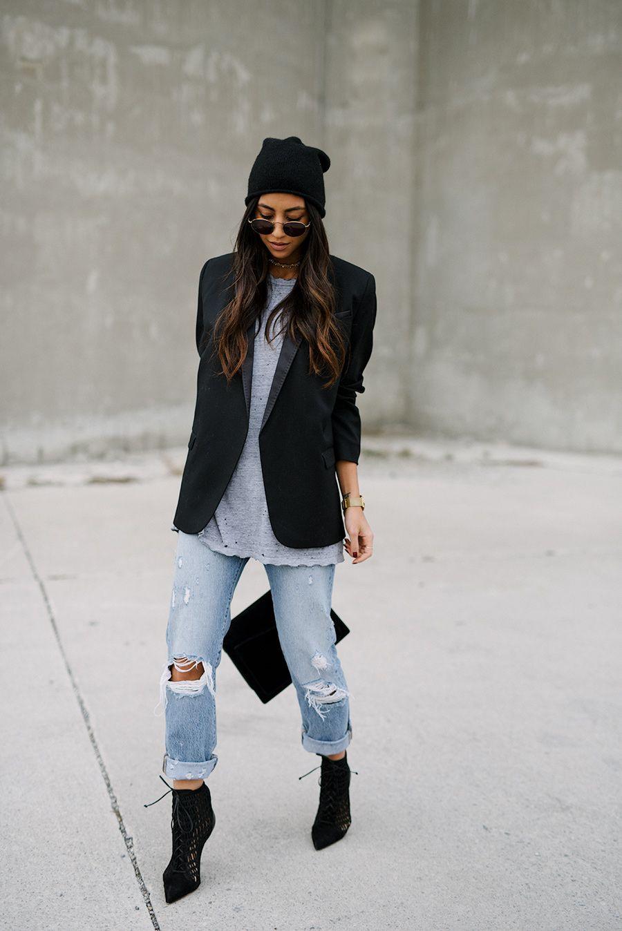 Boyfriend Style Blazers For Women
