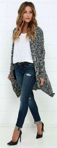 Cardigan Sweaters Outfit