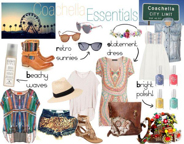 Coachella Essentials For Summer