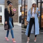 Coats, Turtlenecks And Skinny Jeans   Outfit