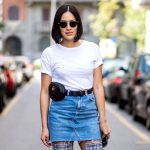 Denim Skirts Outfit