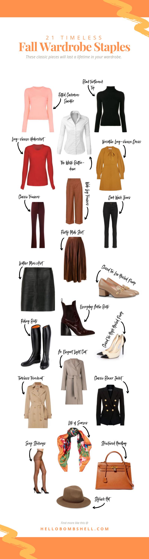 Elegant Fall Season Essentials For Women