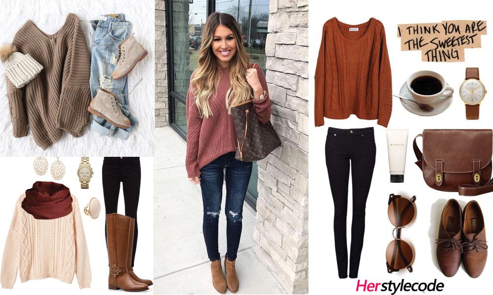 Fall Knitwear Outfit Ideas