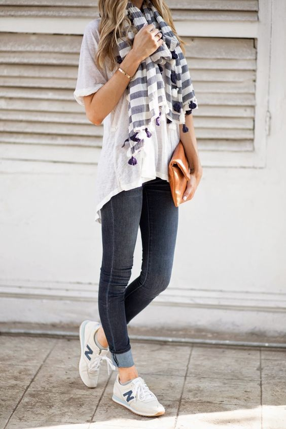 Fall Outfits With Sneakers