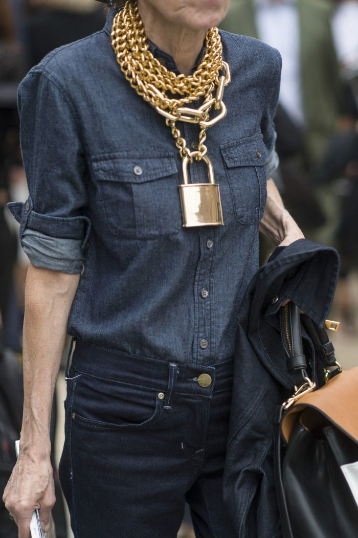 How to Look Casual Wearing Gold