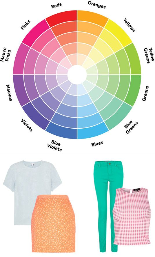 How To Mix and Match Colors in Your   Outfit
