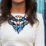 How to Wear a Bib Necklace