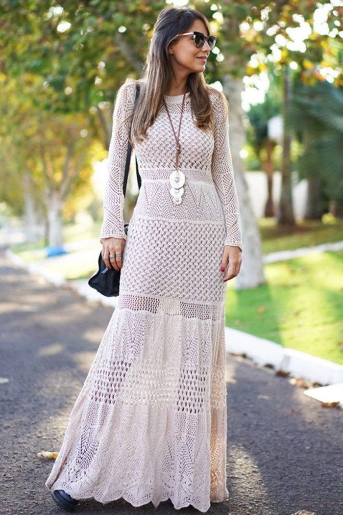 How to Wear Crochet Clothes