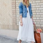 How To Wear Denim Jackets With Dresses