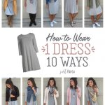 How To Wear Grey Dresses