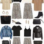 How To Wear Leopard Print Midi Skirt