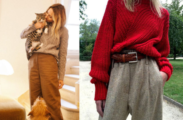 How To Wear Oversized Sweater