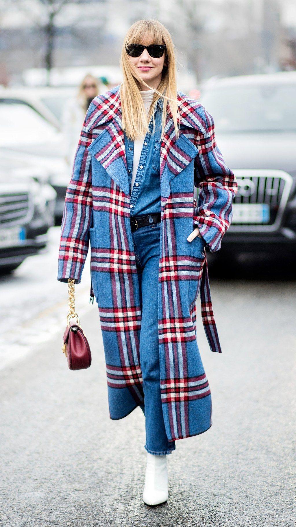 How to Wear Tartan Trend