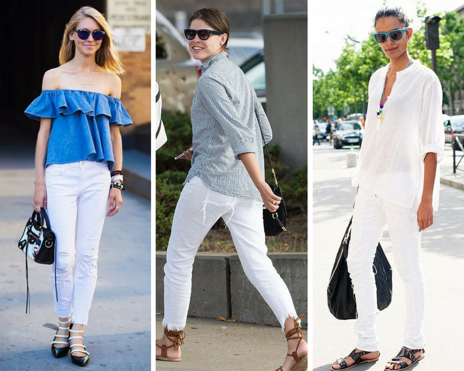 How To Wear White Clothing For Summer