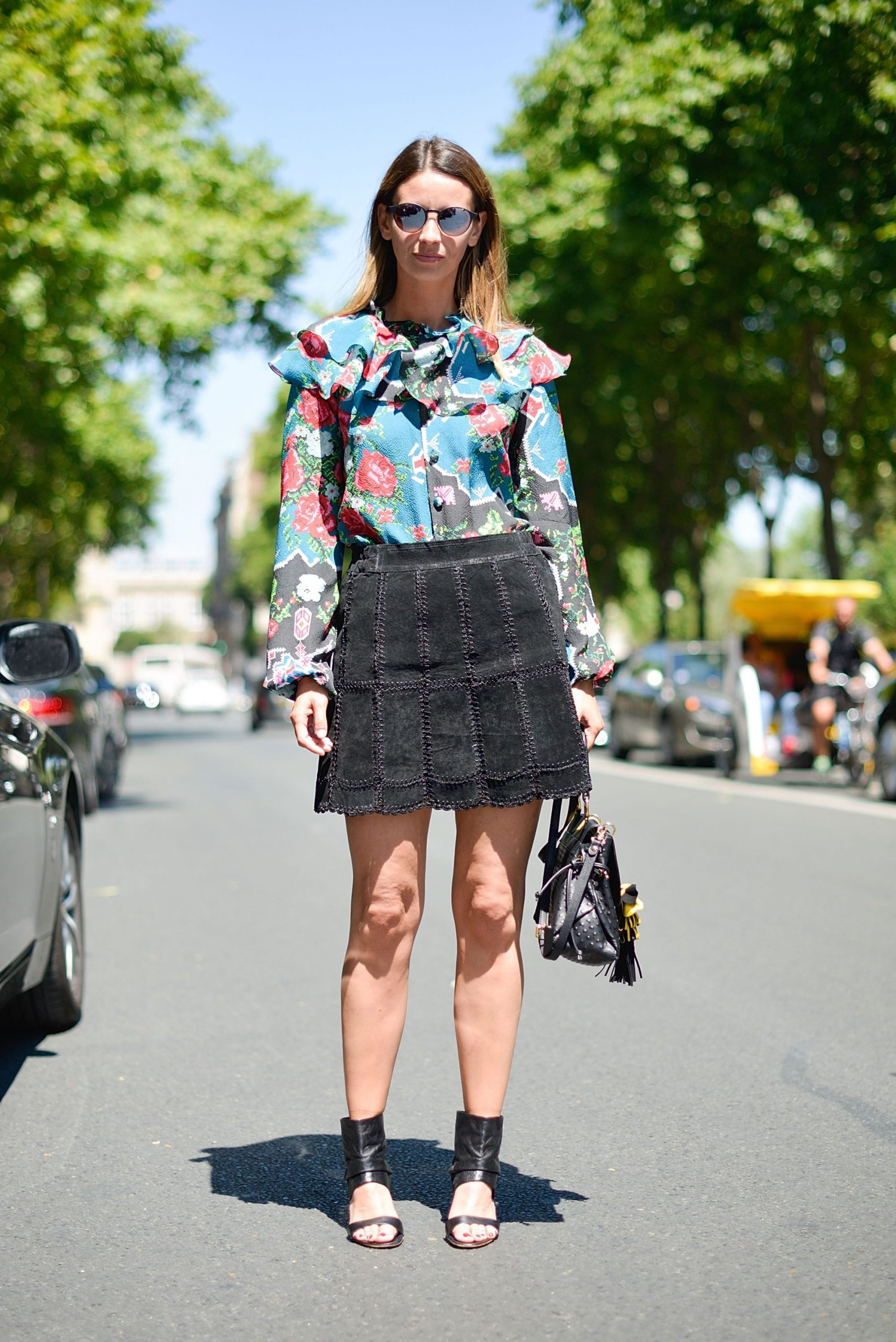How Women Should Mix Prints and Patterns