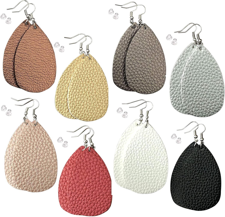 Leather Earrings for Women