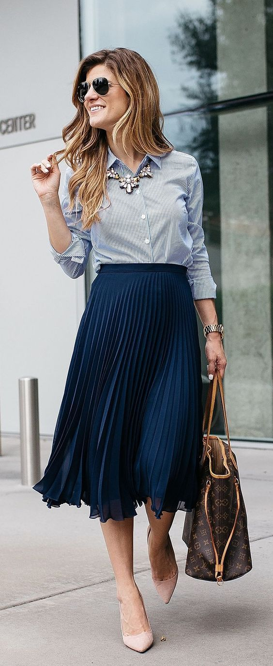 Midi Skirts Outfit