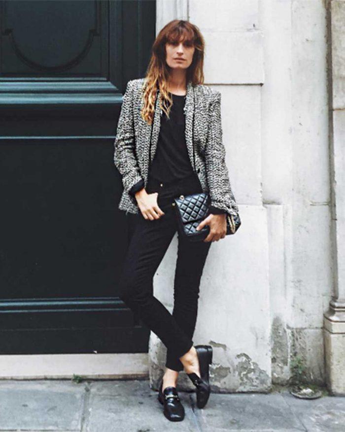Parisian Chic Outfit Idea