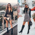 Plaid Skirt Or Plaid Dress This Fall