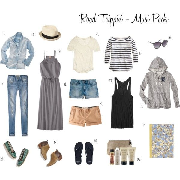 Road Trip And Vacation Outfit Ideas