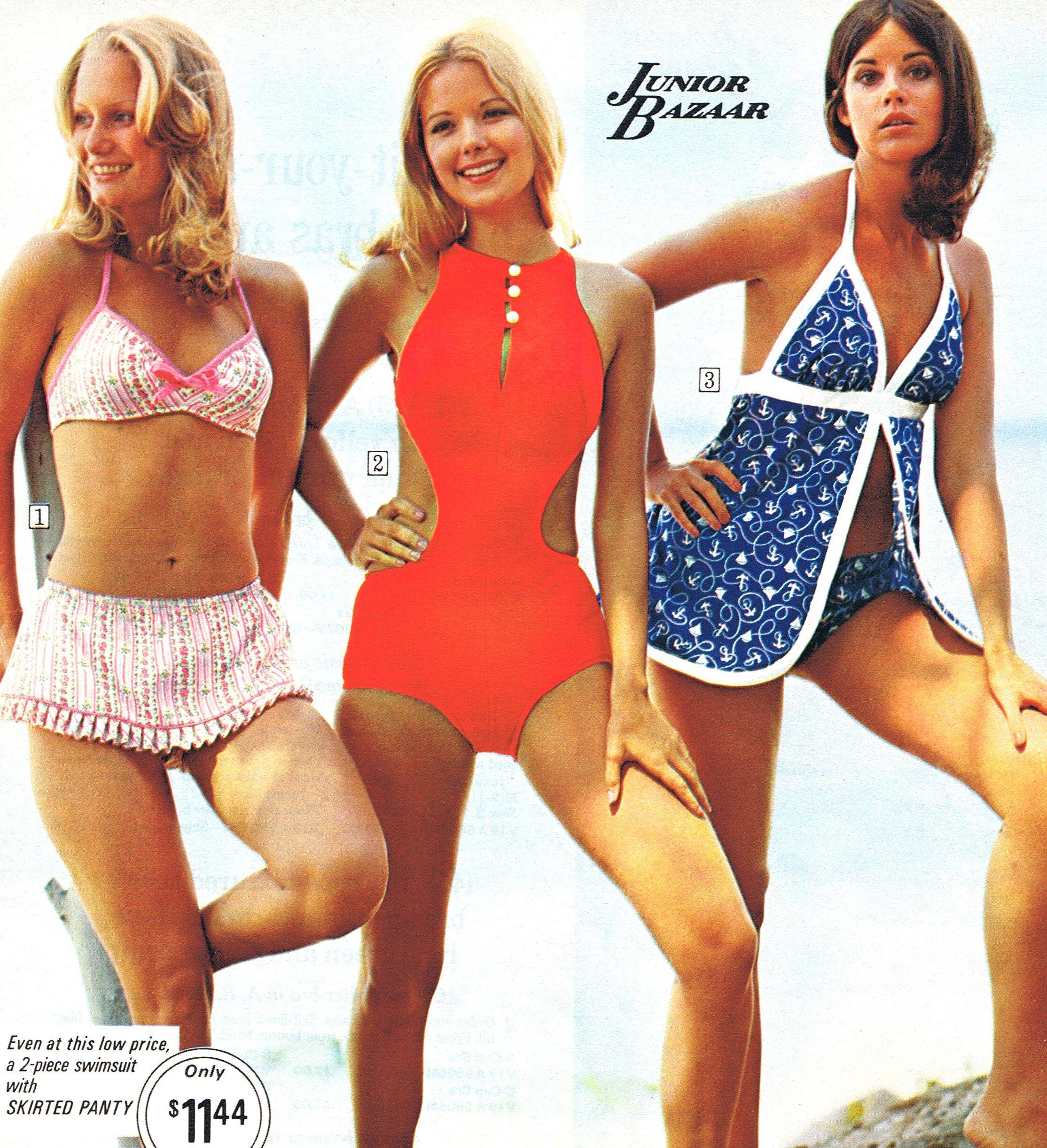 Seventies Inspired Beachwear