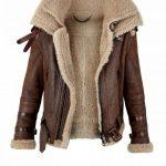 Shearling Aviator Jacket For Winter