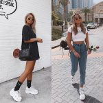 Sporty Casual Outfit Ideas With White   Sneakers