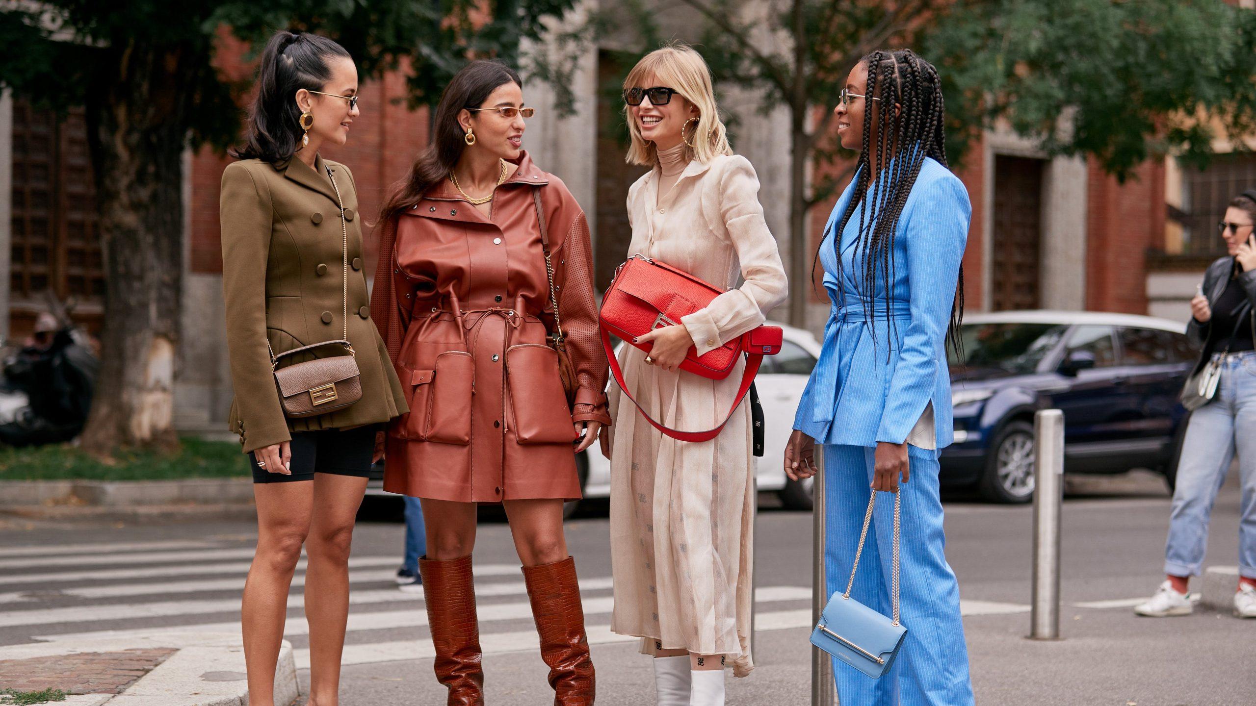 Street Style Looks Milan Fashion Week