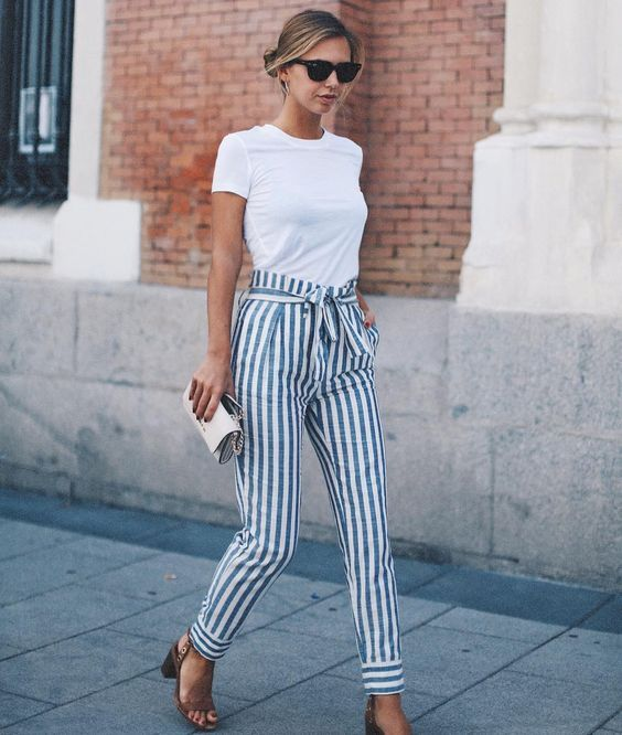 Striped Outfit Ideas For Women