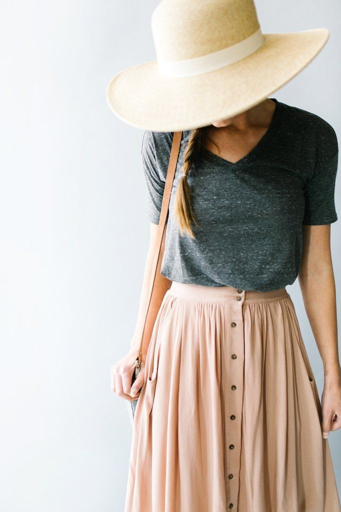 Summer Skirts Outfit Ideas