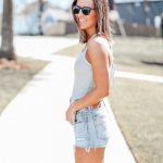Summer Ways to Wear Cutoff Shorts