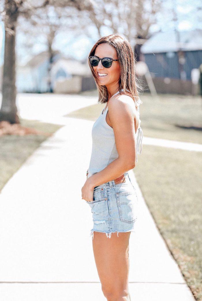 Summer Ways to Wear Cutoff Shorts