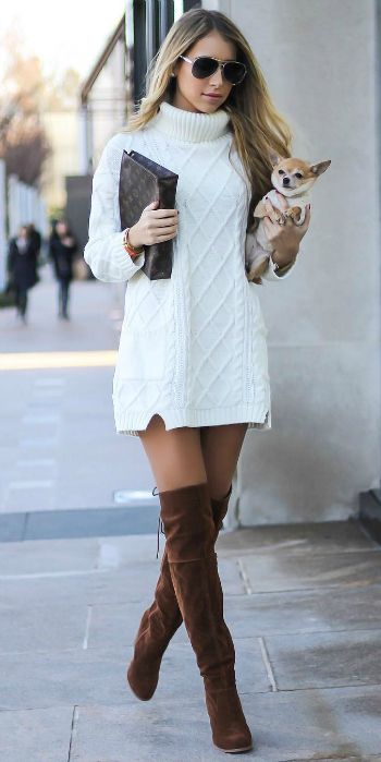 Sweater Dresses Outfit