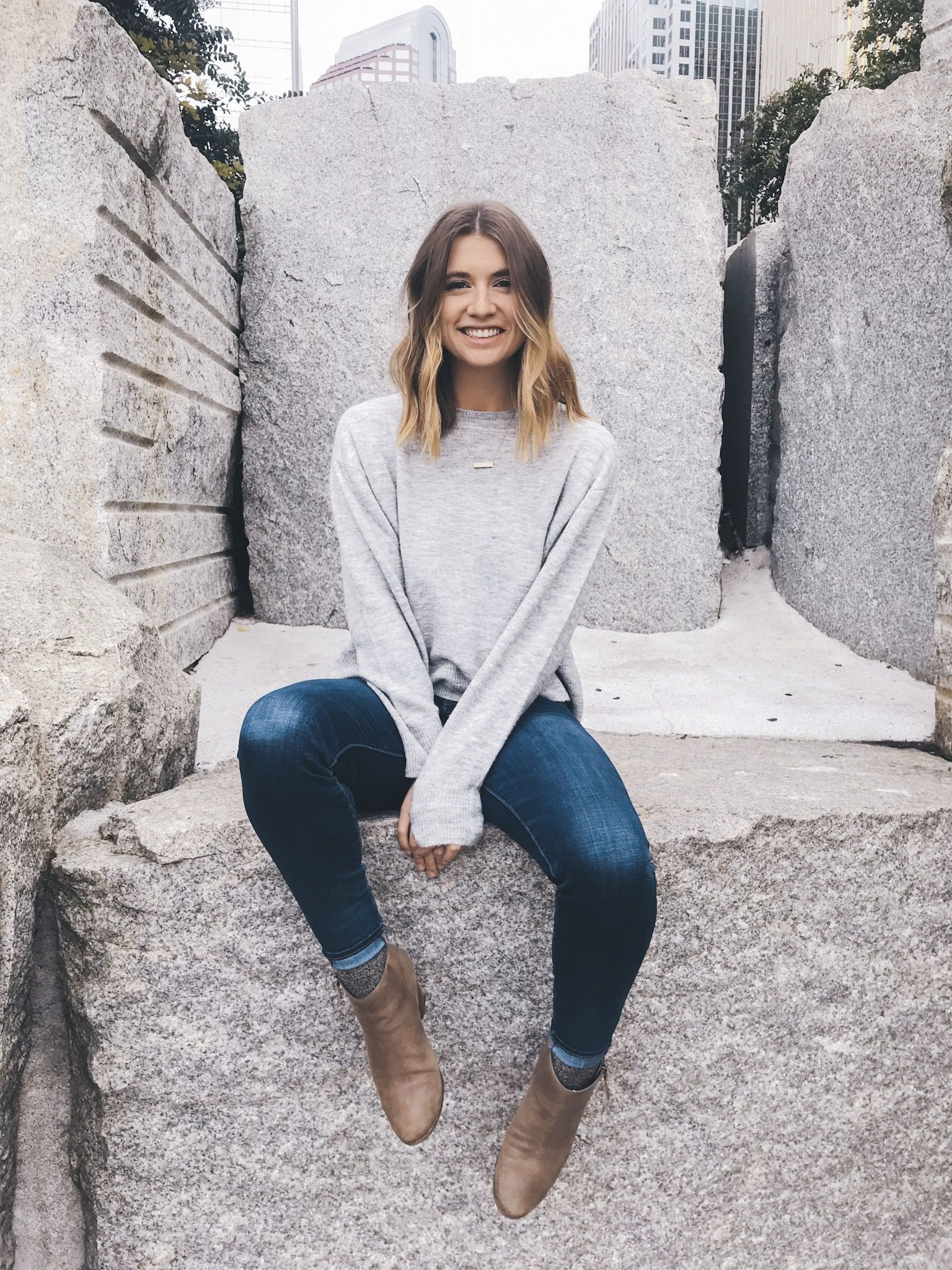 Sweater Weather Outfit For Women