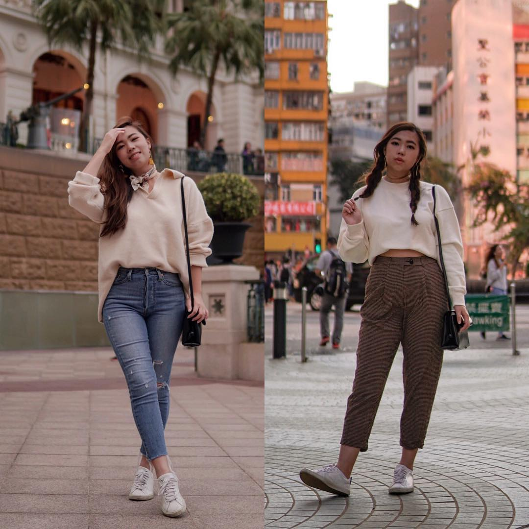Sweaters For Casual Street Walk