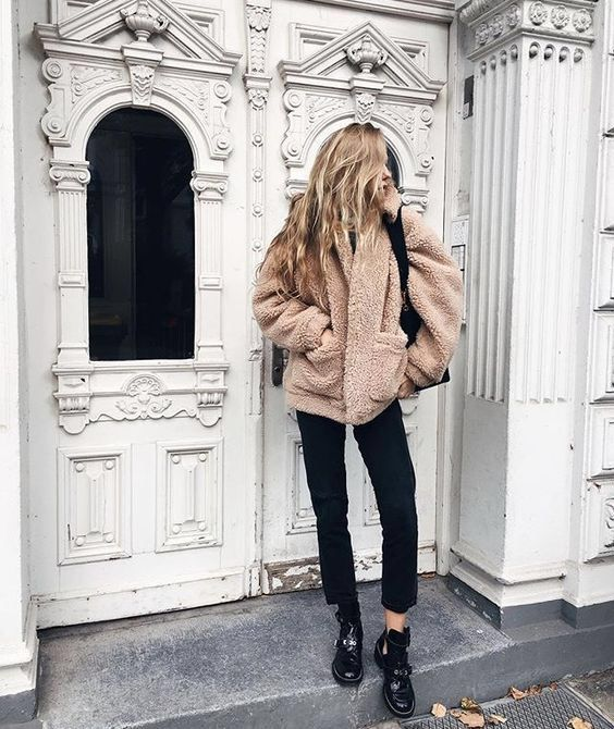 Teddy Bear Jacket Outfit