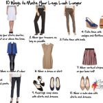 Ways to Make Your Legs Look Longer